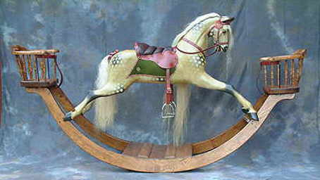 F H Ayres replica rocking horse